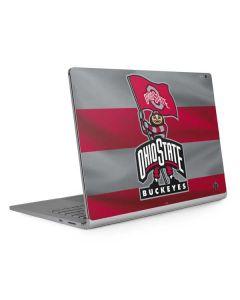 OSU Ohio State Buckeyes Flag Surface Book 2 13.5in Skin