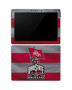 OSU Ohio State Buckeyes Flag Surface Go Skin