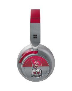 OSU Ohio State Buckeyes Flag Surface Headphones Skin