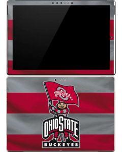 OSU Ohio State Buckeyes Flag Surface Pro 4 Skin