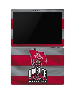 OSU Ohio State Buckeyes Flag Surface Pro 6 Skin