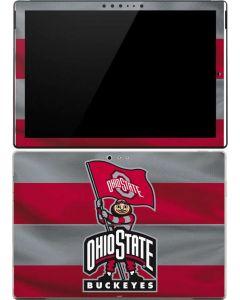 OSU Ohio State Buckeyes Flag Surface Pro (2017) Skin