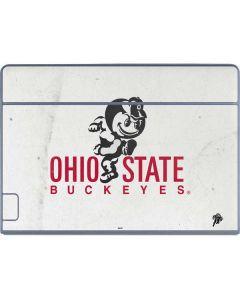 OSU Ohio State Buckeyes Light Grey Galaxy Book Keyboard Folio 12in Skin