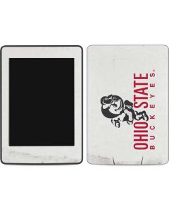 OSU Ohio State Buckeyes Light Grey Amazon Kindle Skin