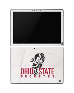 OSU Ohio State Buckeyes Light Grey Surface Pro 6 Skin