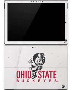OSU Ohio State Buckeyes Light Grey Surface Pro (2017) Skin