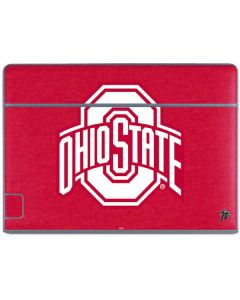 OSU Ohio State Buckeyes Red Logo Galaxy Book Keyboard Folio 10.6in Skin