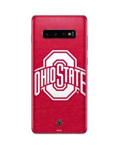 OSU Ohio State Buckeyes Red Logo Galaxy S10 Plus Skin