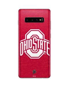 OSU Ohio State Buckeyes Red Logo Galaxy S10 Plus Skin