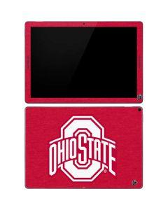 OSU Ohio State Buckeyes Red Logo Google Pixel Slate Skin