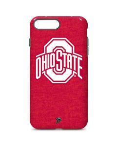 OSU Ohio State Buckeyes Red Logo iPhone 7 Plus Pro Case