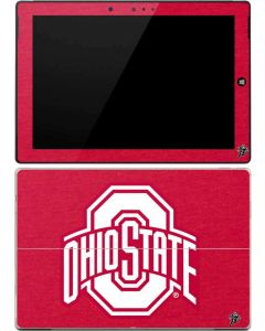 OSU Ohio State Buckeyes Red Logo Surface 3 Skin