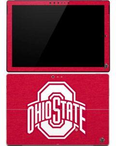 OSU Ohio State Buckeyes Red Logo Surface Pro 4 Skin