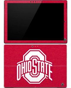 OSU Ohio State Buckeyes Red Logo Surface Pro (2017) Skin