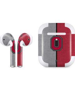 OSU Ohio State Buckeyes Split Apple AirPods 2 Skin