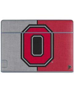 OSU Ohio State Buckeyes Split Galaxy Book Keyboard Folio 10.6in Skin