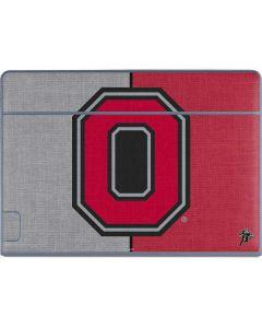OSU Ohio State Buckeyes Split Galaxy Book Keyboard Folio 12in Skin