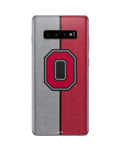 OSU Ohio State Buckeyes Split Galaxy S10 Plus Skin