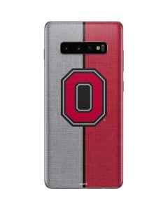OSU Ohio State Buckeyes Split Galaxy S10 Plus Skin