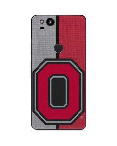 OSU Ohio State Buckeyes Split Google Pixel 2 Skin