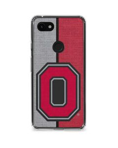 OSU Ohio State Buckeyes Split Google Pixel 3a Clear Case