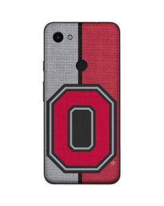 OSU Ohio State Buckeyes Split Google Pixel 3a Skin
