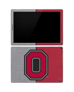 OSU Ohio State Buckeyes Split Google Pixel Slate Skin
