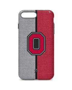OSU Ohio State Buckeyes Split iPhone 8 Plus Pro Case