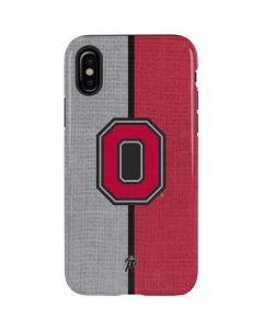 OSU Ohio State Buckeyes Split iPhone X Pro Case