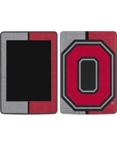 OSU Ohio State Buckeyes Split Amazon Kindle Skin