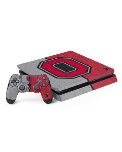 OSU Ohio State Buckeyes Split PS4 Slim Bundle Skin