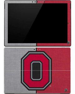 OSU Ohio State Buckeyes Split Surface Pro 4 Skin