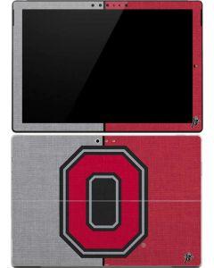 OSU Ohio State Buckeyes Split Surface Pro (2017) Skin