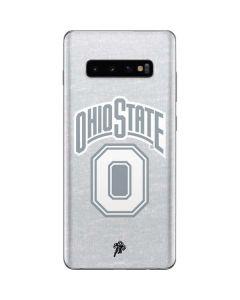 OSU Ohio State Faded Galaxy S10 Plus Skin