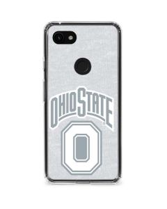 OSU Ohio State Faded Google Pixel 3a Clear Case