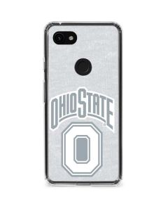 OSU Ohio State Faded Google Pixel 3a XL Clear Case