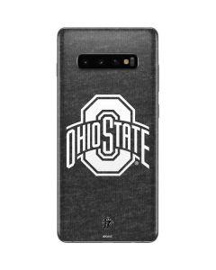 OSU Ohio State Grey Galaxy S10 Plus Skin