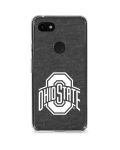 OSU Ohio State Grey Google Pixel 3a Clear Case