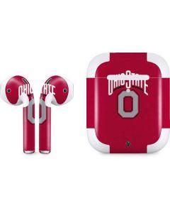 OSU Ohio State O Apple AirPods 2 Skin