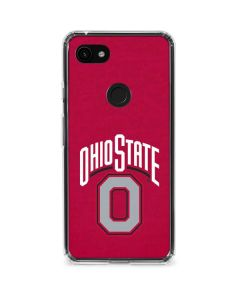 OSU Ohio State O Google Pixel 3a Clear Case