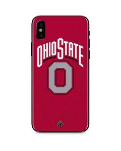 OSU Ohio State O iPhone XS Max Skin