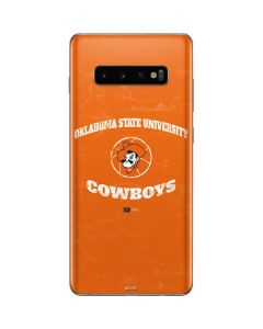 OSU Oklahoma Cowboys Orange Galaxy S10 Plus Skin