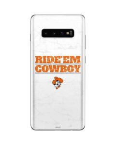 OSU Oklahoma Ride Em Cowboy Galaxy S10 Plus Skin