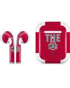 OSU The Ohio State Buckeyes Apple AirPods 2 Skin