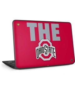 OSU The Ohio State Buckeyes HP Chromebook Skin
