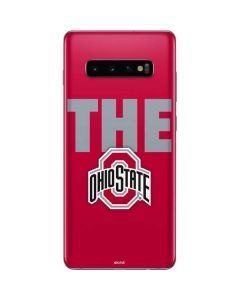 OSU The Ohio State Buckeyes Galaxy S10 Plus Skin