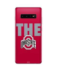 OSU The Ohio State Buckeyes Galaxy S10 Plus Skin