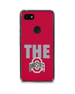 OSU The Ohio State Buckeyes Google Pixel 3a XL Clear Case