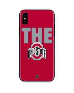 OSU The Ohio State Buckeyes iPhone X Skin