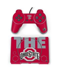 OSU The Ohio State Buckeyes PlayStation Classic Bundle Skin